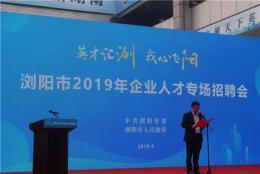 浏阳市2019年企业人才专场招聘会举行,最高月薪2万元