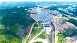 中国援建科特迪瓦的电站提前8个月竣工