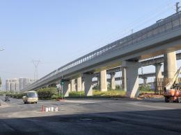 湘府路快改河东段9月底试运行,未来省政府直达长沙南站开车仅6分钟