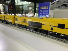 轨博会W2馆:展出两列实体列车