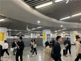 长沙地铁五一广场站站厅层进行提质改造 不影响正常地铁乘坐