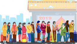 """2019年春运广铁40天送客6200万,""""反向探亲""""成大趋势"""