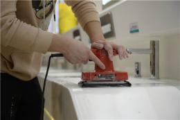 黄花机场对117个卫生间进行深度打磨清洁,两大航站楼新增169台扩香机