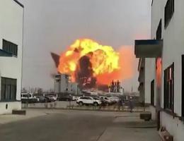 盐城化工厂爆炸事故?#35328;?#25104;6人死亡,30人重伤