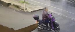 株洲男子打牌输钱害怕老婆责骂,盗窃摩托车卖钱被民警抓获