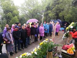 曾国藩清明祭现场:近300人朗读曾氏家书选段