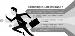 湖南公布2019年政务公开工作要点,首次单独提出围绕营商环境持续优化强化公开