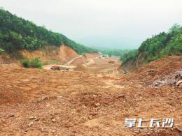 宁乡一砂石场破坏环境 却仍将扩建