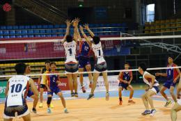 湖南铁道职院男排获中国大学生排球联赛冠军