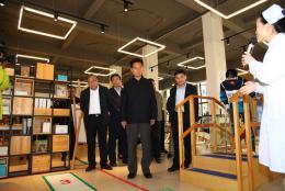 全国人大教科文卫委副主任殷方龙赴长沙民政职院调研