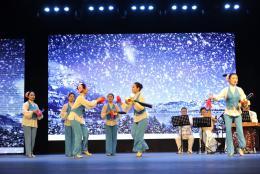湖南省内外48个代表性渔鼓作品在常德展演