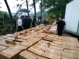 茶陵公安查货查货6000多条假烟,三嫌疑人被抓获