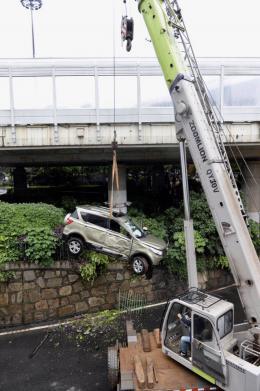 冲下立交桥越野车系北汽银翔召回问题车型,可能存在刹车踏板行程偏长现象