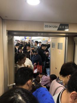 """""""五一""""期间长株潭城际铁路客流大增,增幅达到54%"""