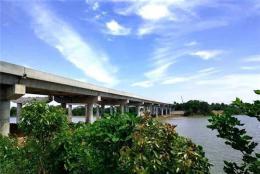 长益扩容工程益阳段新河特大桥左幅顺利合龙