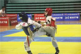 湖南省跆拳道大奖赛娄底分区赛结束,11支代表队比武切磋
