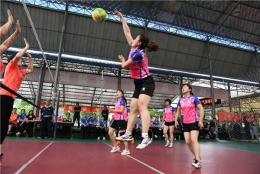浏阳市教育局气排球代表队摘得市赛男女双冠军