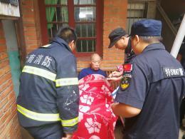 衡阳一民房起火,八旬瘫痪老人被困火海