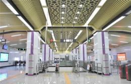 今天11点28分,长沙地铁4号线载客试运营