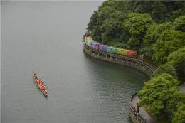 第四屆長沙石燕湖龍舟環島競速賽開賽