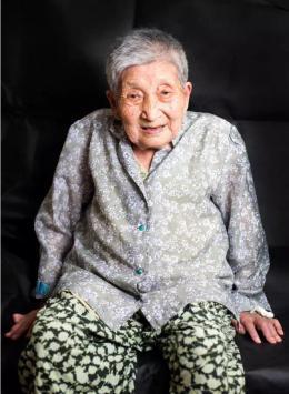 登記在冊在世的只剩83位..... 南京大屠殺幸存者史桂芳去世