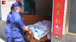 洪水退后永州江华6户民房成危房,消防帮忙转移物资