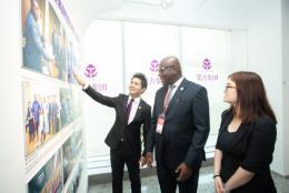 塞拉利昂共和國駐華大使考察長沙企業