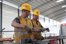 渝懷鐵路懷化制梁場通過認證正式進入批量生產階段