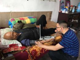 送醫送藥,馬跡塘鎮益陽侖村來了一群人美心善的大學生