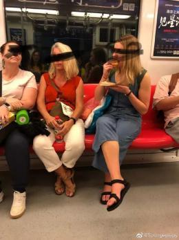 都是吃东西,南京地铁只罚中国人不罚外国人……回应来了