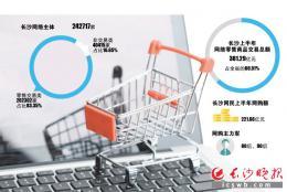 长沙网民上半年网购超220亿元 直播间正成为商家标配