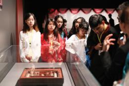 青春同心,湖湘同行 2019年海峡两岸暨香港、澳门大学生到省博物馆开展传统文化体验活动