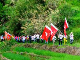 走红军走过的路,徒步穿越大湘南(汝城站)活动即将开幕
