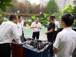 垃圾分类行动起来!浏阳河街道投放800多个大型分类垃圾桶