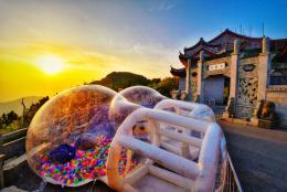 2000余名游客齐聚南岳衡山 观赏最美星空 体验最燃青春