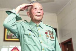 湖南92岁老兵9次战斗立功7次:活捉敌军一个高级将领,俘虏敌军一个连