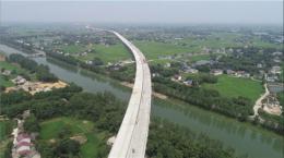长益扩容工程新河特大桥全桥贯通