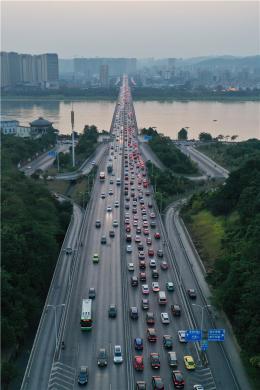 中秋假期长沙城区车流量增大,高速避堵方案请拿好