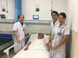 51岁女子内脏位置全长反,专家团队成功为镜面人胆管取石