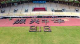 勿忘国耻,中南大学新生举行九一八纪念活动
