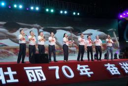 歌唱祖国!湘雅二医院千人拉歌燃爆现场