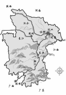 分分合合,历史上湖南湖北原来还是聚少离多   湖湘地理