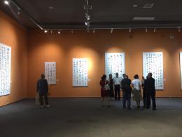 到tt快3湖南 省国画馆,一展看尽全国各省级书协主席佳作