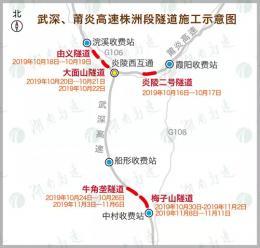 10月16日起,武深、莆炎高速這些路段将實行封閉施工