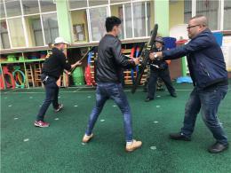 反恐演練進校園,幼兒園開展應急演練