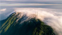 好仙!登山看云觀日 南岳景區迎來最適合看云海時節