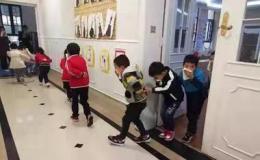 瀏陽一幼兒園組織消防安全親子活動