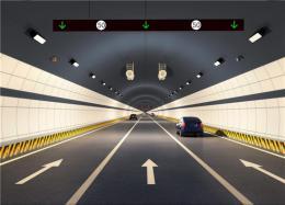 長沙望城區月亮島路普瑞隧道雙線貫通