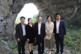 韩国国际文化振兴院赴道县交流理学文化